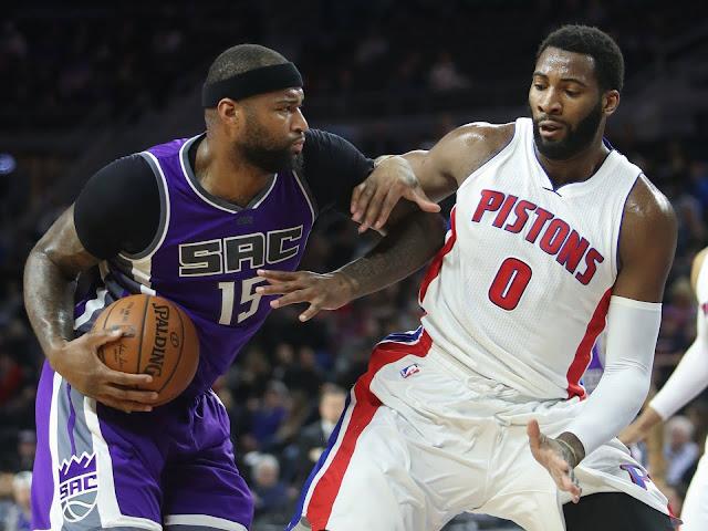 DeMarcus Cousins domine Drummond | PistonsFr, actualité des Detroit Pistons en France