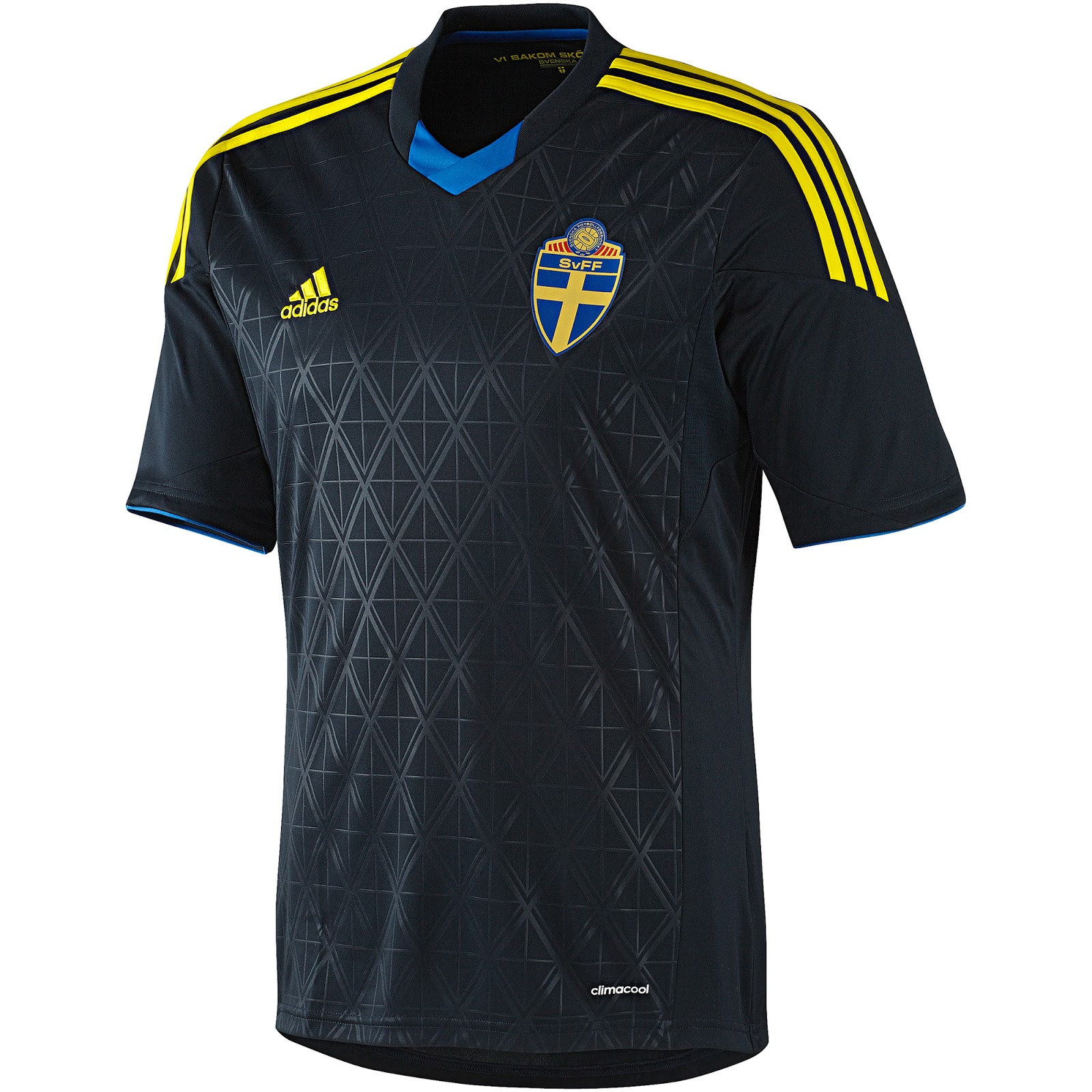 Released Shirts - Footy Headlines Adidas 13-14 Sweden