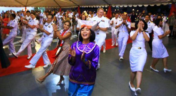 Aksi TNI AL di Hawaii Rimpac 2018