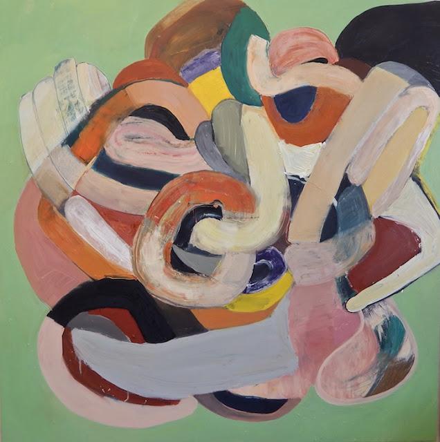 Samantha Palmeri painting 2016