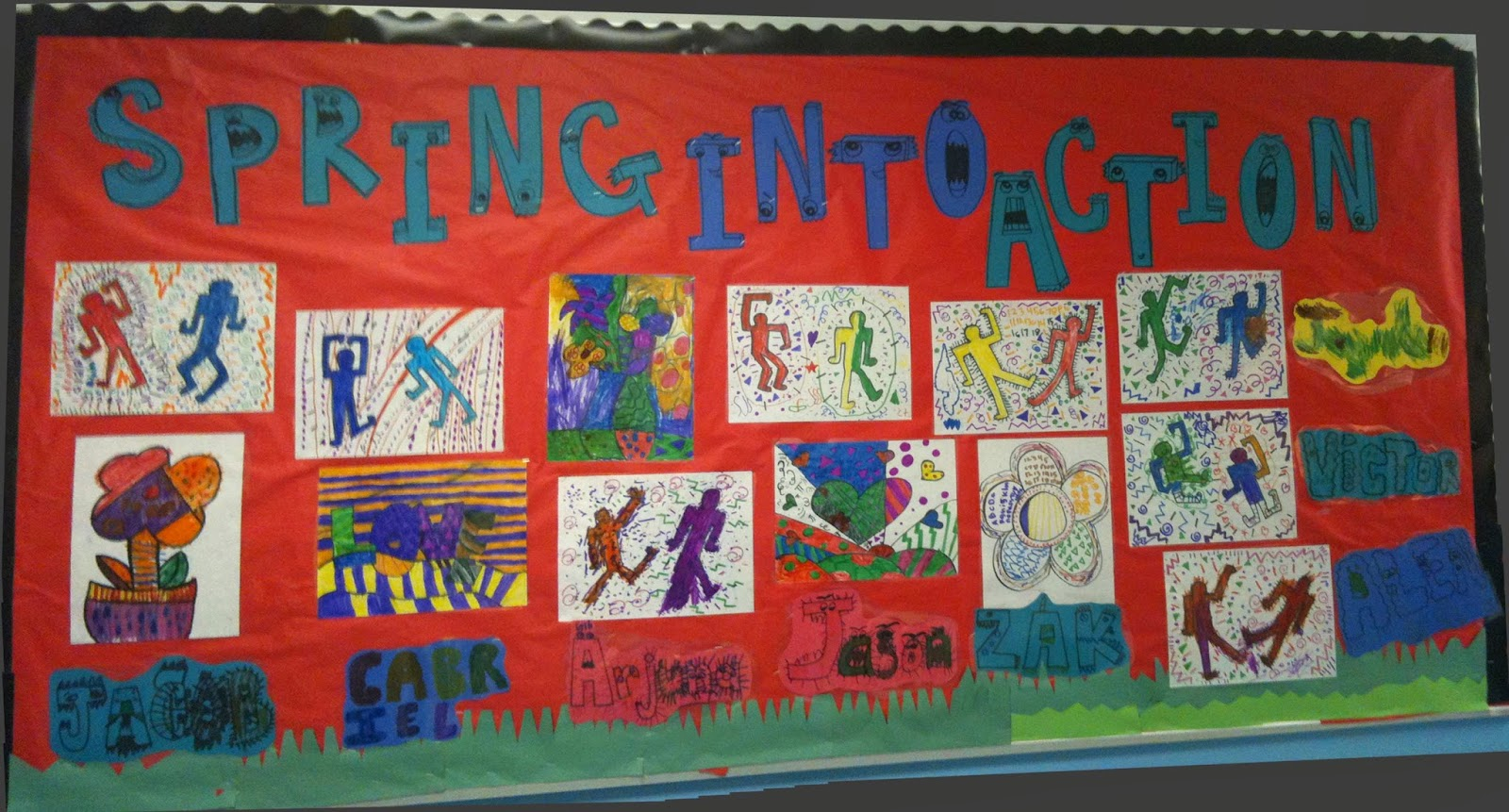 Ms C S Artroom Keith Haring