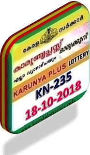 kerala lottery result from keralalotteries.info 18/10/2018, kerala lottery result 18.10.2018, kerala lottery results 18/10/2018, KARUNYA PLUS lottery KN 235 results 18/10/2018, KARUNYA PLUS lottery KN 235, live KARUNYA PLUS   lottery KR-235, result today, kerala lottery results today, today kerala lottery result, KARUNYA PLUS lottery KARUNYA PLUS lottery result today, KARUNYA PLUS lottery KN-235,   KARUNYA PLUS lottery results today, kerala lottery results today KARUNYA PLUS,