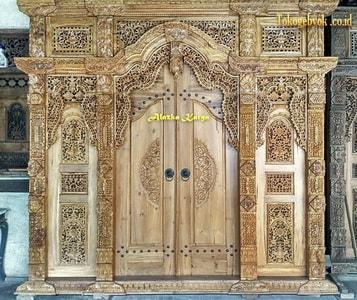 Pintu Ukir Gebyok 3 Meter
