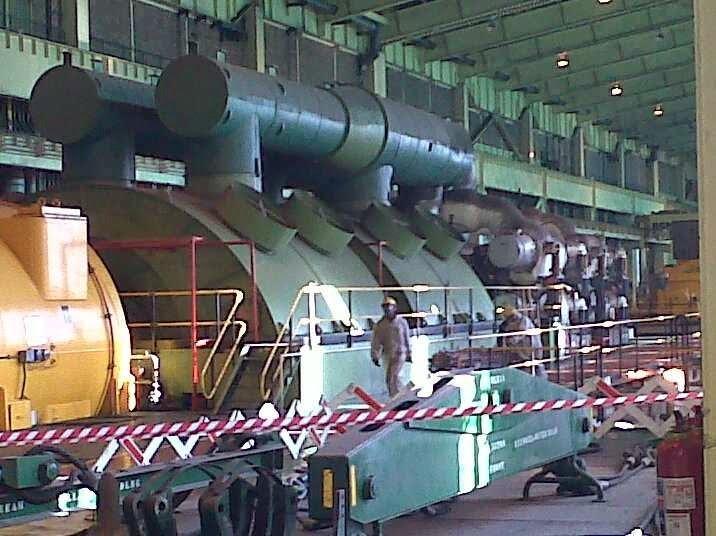 Duvha, South Africa. Turbine Overspeed Test Failure