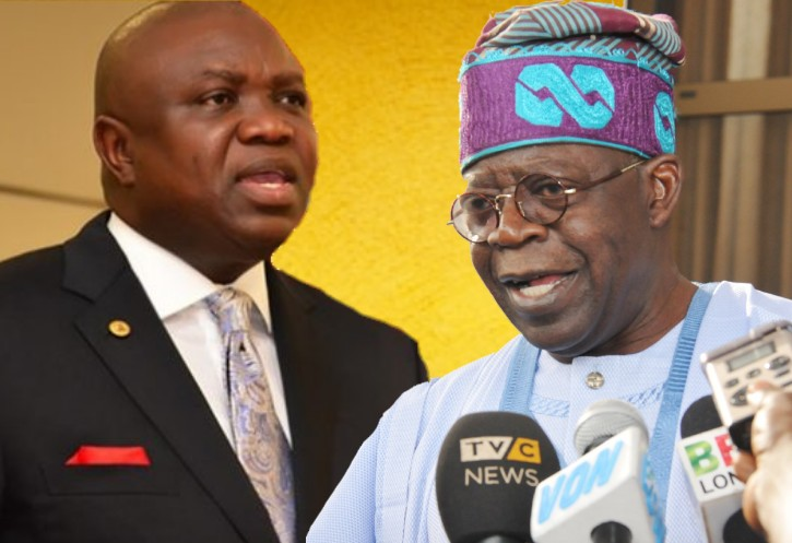 Image result for Tinubu under attack over plans to impeach Ambode