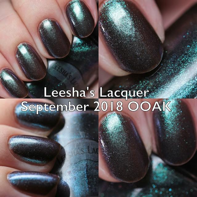 Leesha's Lacquer September 2018 OOAK