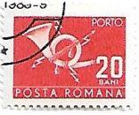 Selo Post Horn, 20 Bani