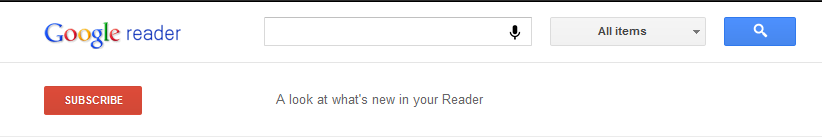 Google Reader new