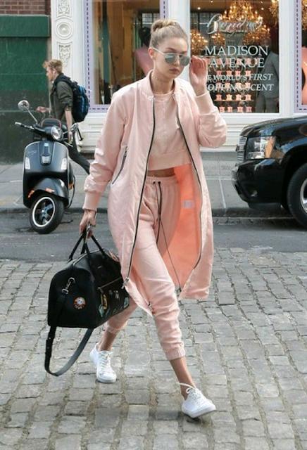 Zapatillas de moda blancas