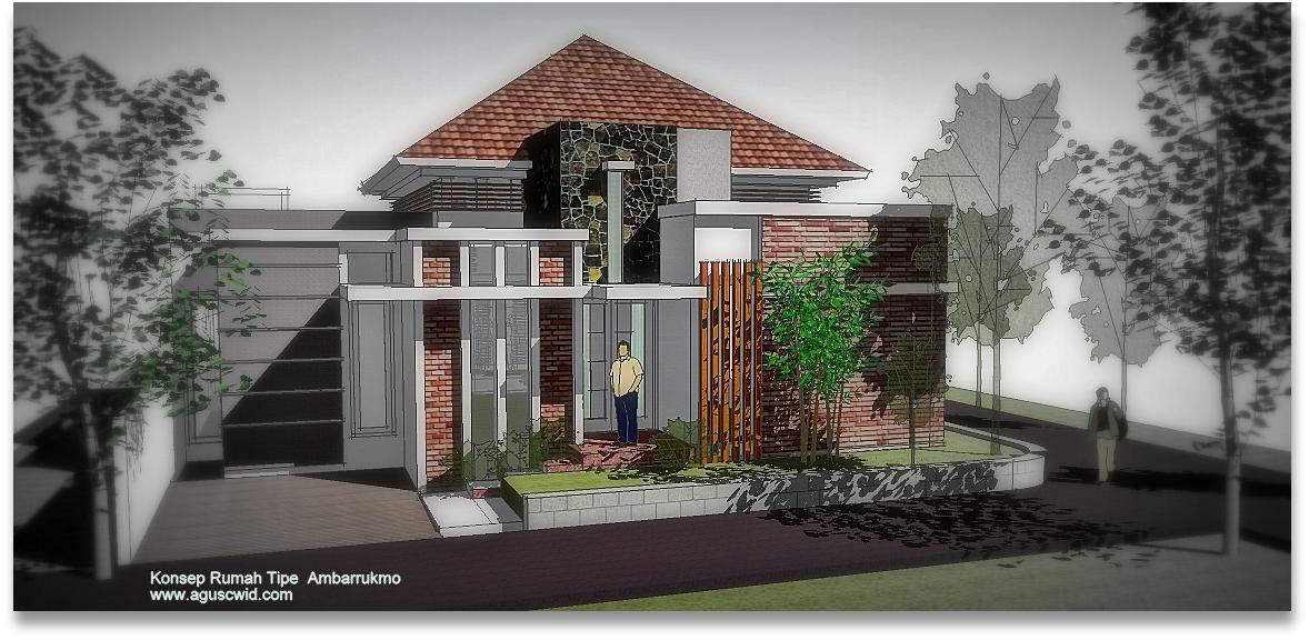 Desain Rumah  4 Kamar  Tidur  15x18meter Desain Desain Rumah