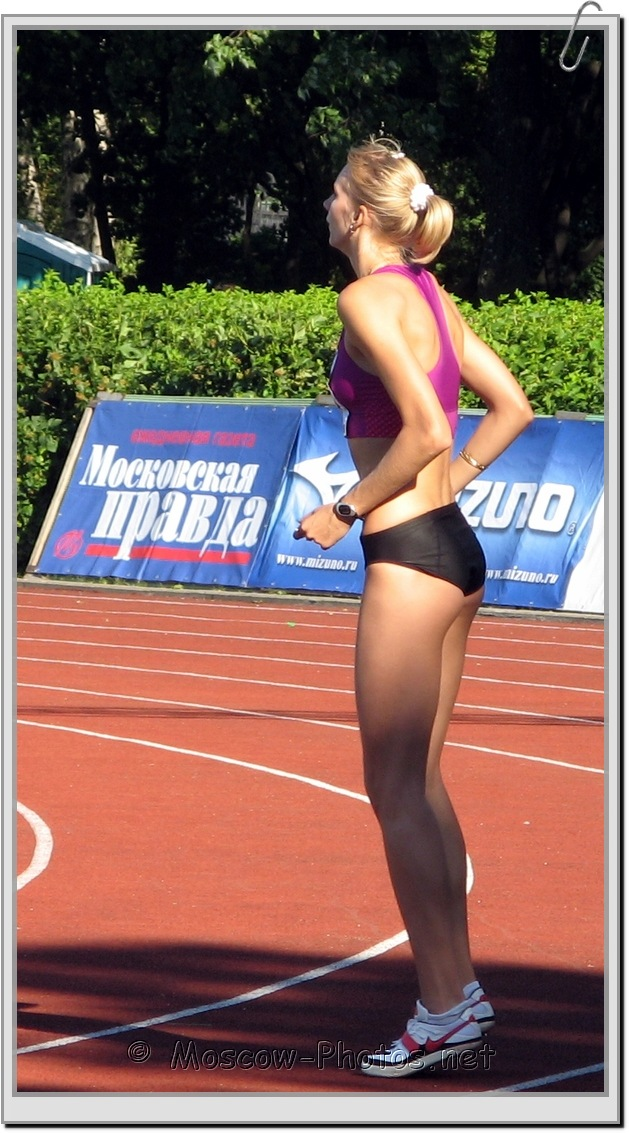 High Jump Preparation at Moscow Athletics Open 2010