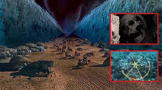 Mar Rojo: Arqueólogos descubren los restos del ejército egipcio del éxodo bíblico