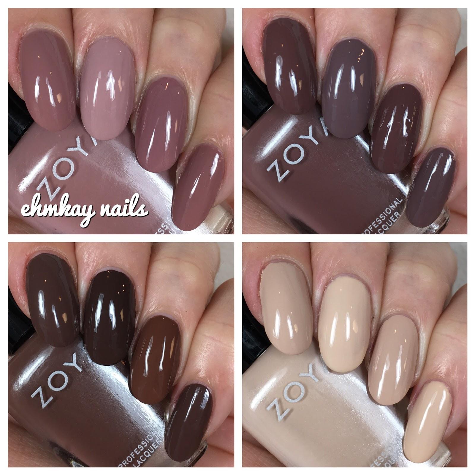 Ehmkay nails zoya naturel 3 comparisons zoya naturel 3 comparisons reheart Images