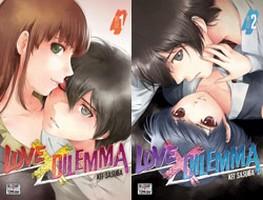Lisez notre avis concernant les tomes 1 et 2 de Love X Dilemma