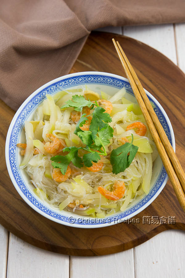 節瓜粉絲蝦米 Hairy gourd Vermicelli and Dried Shrimps01