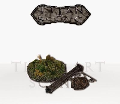 Titan Art Scenic-escenografía-Muestra Tablero sencillo.