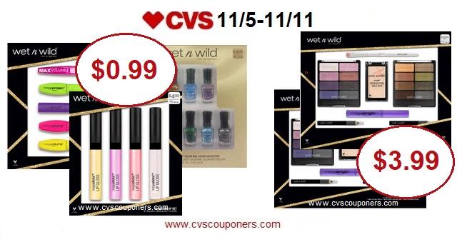 http://www.cvscouponers.com/2017/11/wet-n-wild-gift-sets-only-099-at-cvs.html