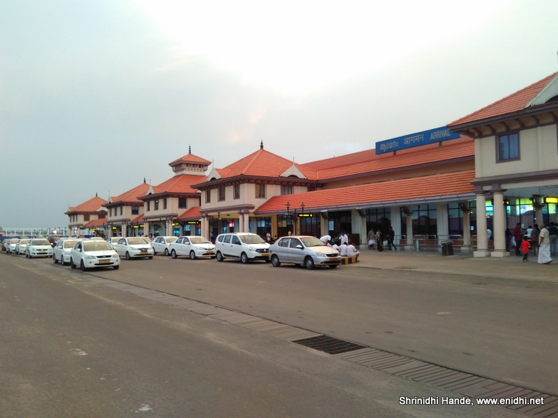 Cochin Airport to city Bus timings and other budget