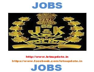 jobs-j&k police-letsupdate