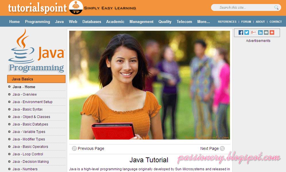 5 trang web hay để học Java - Passionery