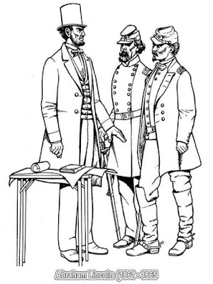 american presidents abraham lincoln coloring pages
