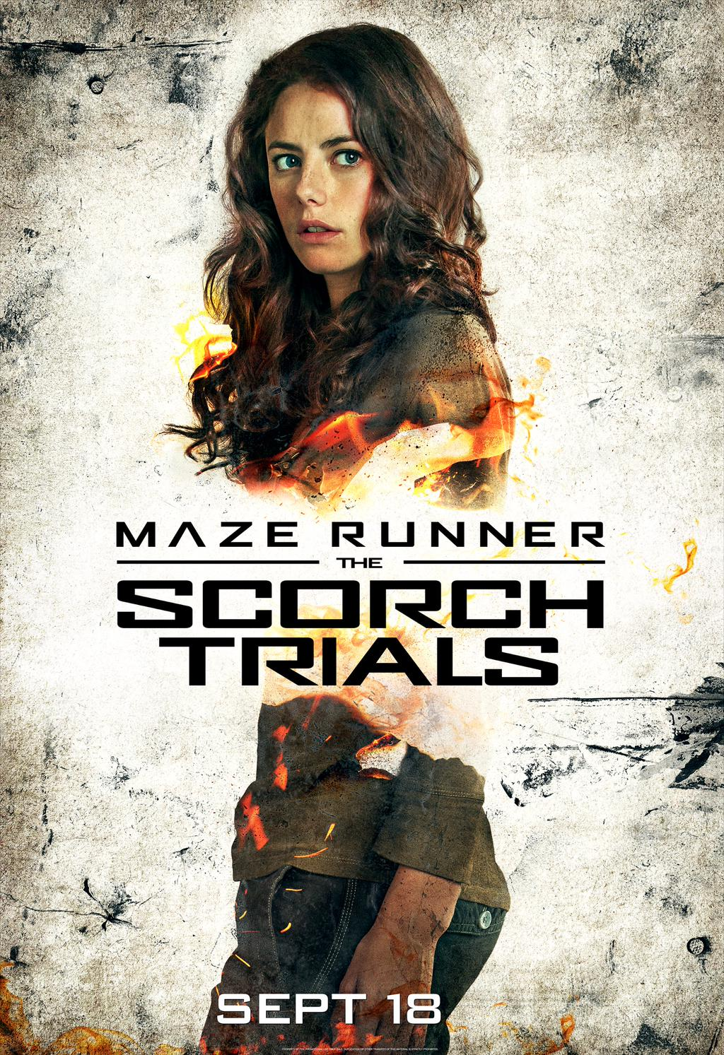 Maze Runner: The Scorch Trials (Teresa)