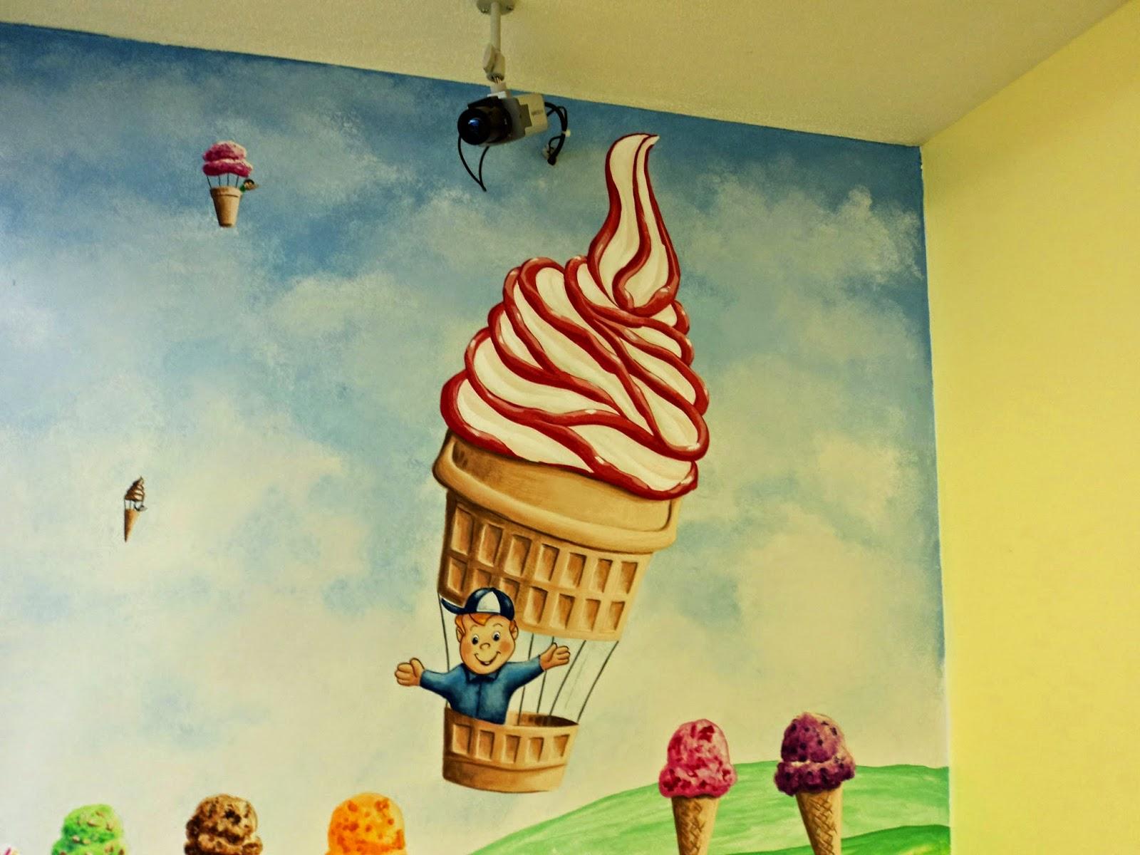 Dennis Day Designs - Lettering, Pinstriping; Murals: Wall Murals