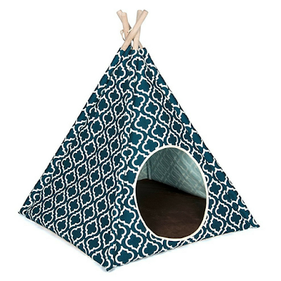 Dog Teepee by PLAY in Moroccan Navy for small pooches