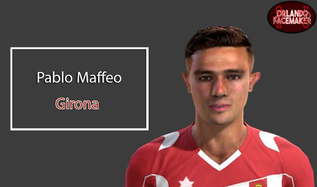 Pablo Maffeo Face PES 2013