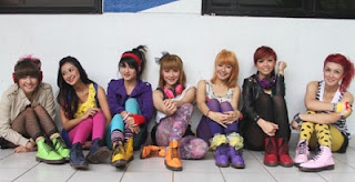 Foto Personil Super Girlies