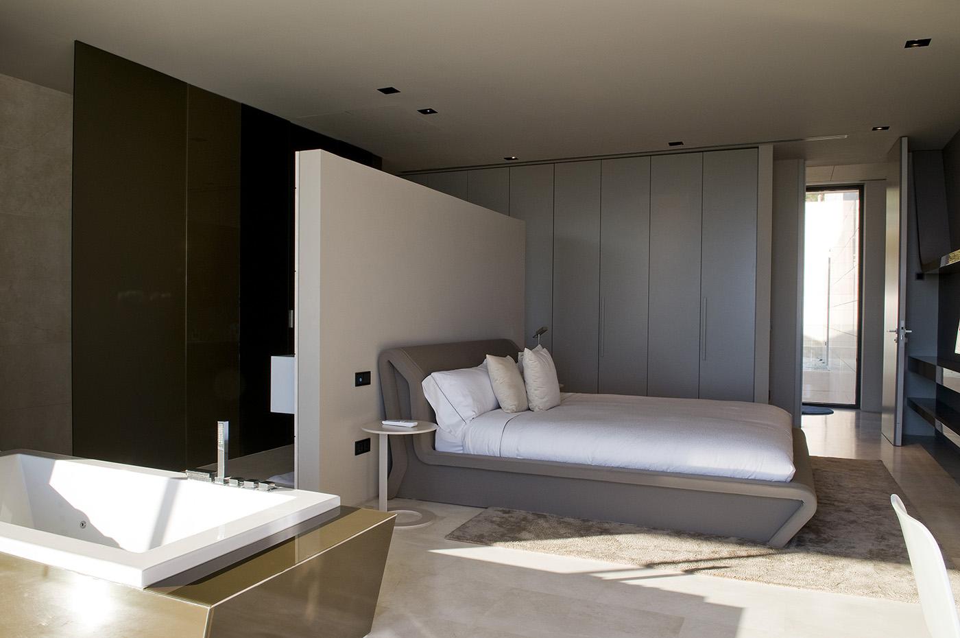 Vivienda unifamiliar en marbella por a cero casa minimalista - Programa diseno vivienda ...