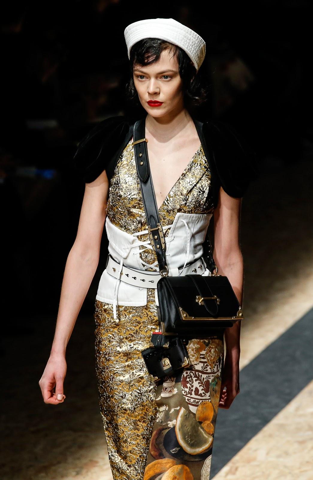 What is the secret of Miuccia Prada & Prada Fall/Winter 2016 collection show via www.fashionedbylove.co.uk british fashion blog