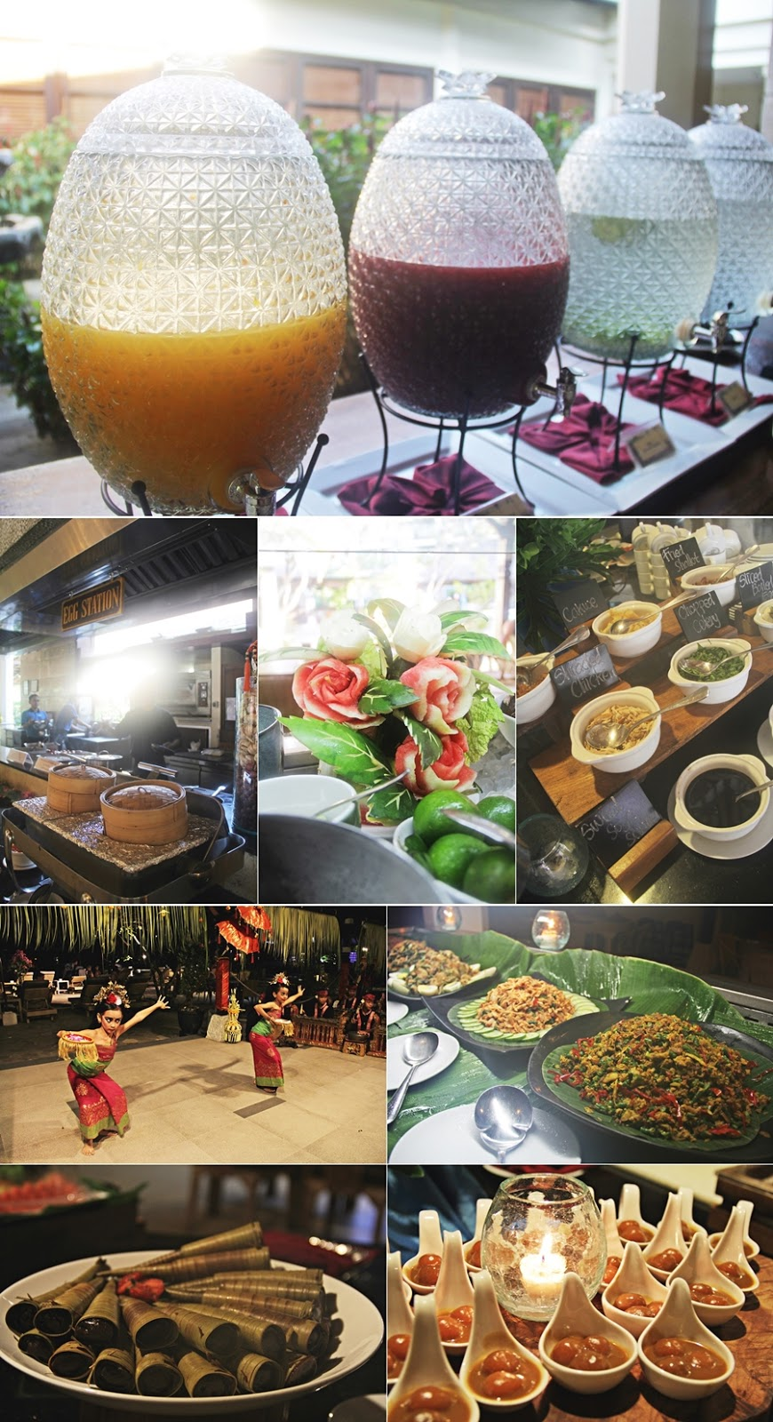 hotel breakfast food buffet