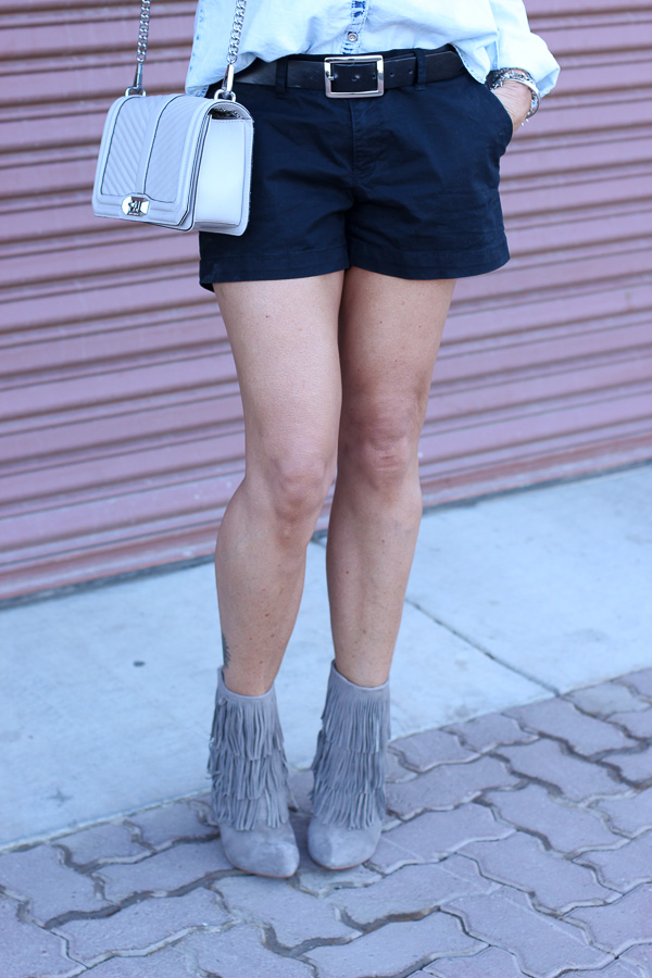 parlor girl how to wear shorts into autumn