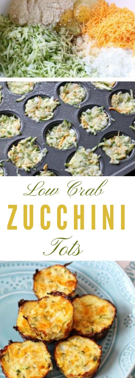 Low Carb Zucchini Tots #healthyrecipe #diet