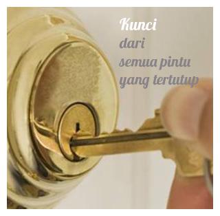 kunci dari pintu tertutup