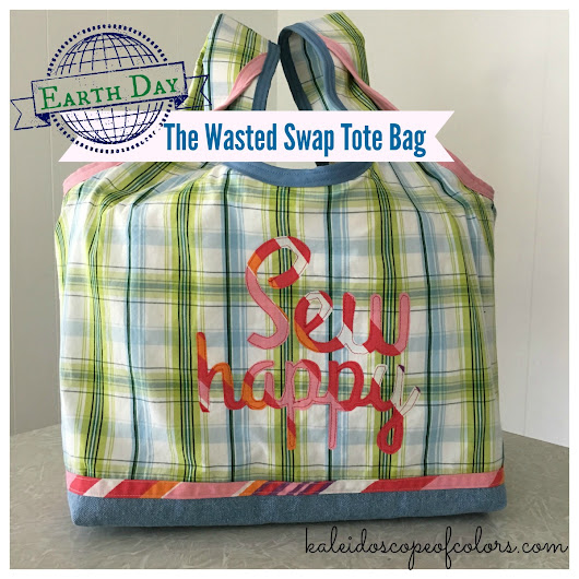 Earth Day: The Wasted Swap Tote Bag (Stowe Bag Hack)