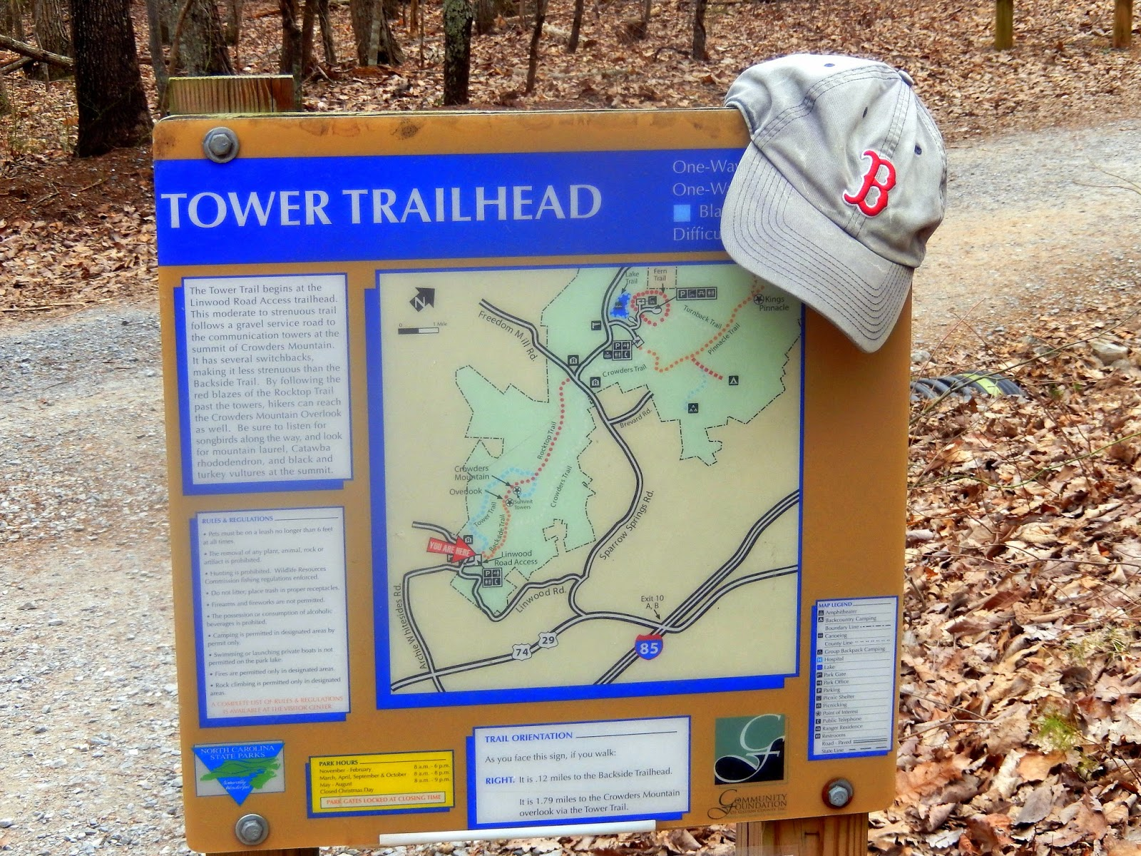View crowder's mountain loop in a larger map. Hiking With A Fat Bald White Guy Crowders Mountain State Park Summit Trail