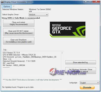 Display Driver Uninstaller 17.0.6.6 Terbaru Gratis