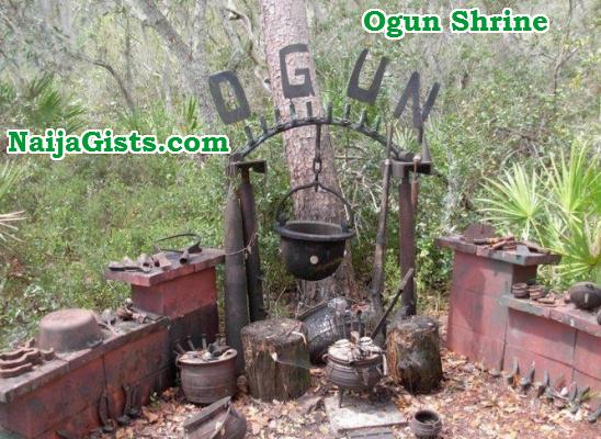 ogun shrine ilorin kwara
