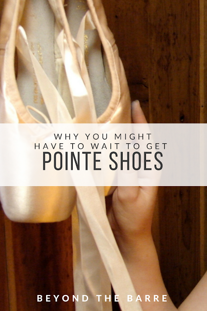 Why you might have to wait for pointe shoes