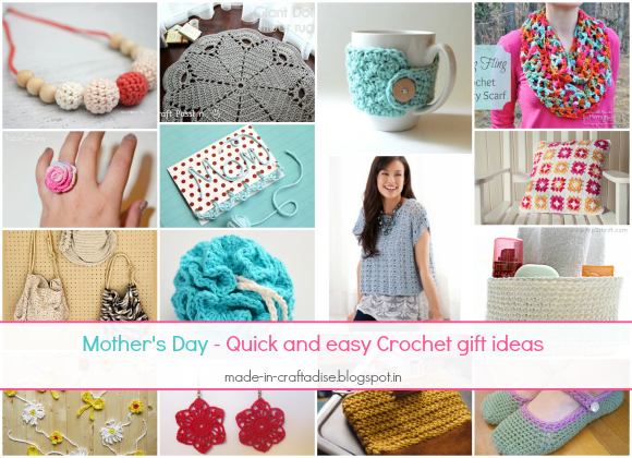 Mother's Day - Quick & Easy Crochet Gift Ideas
