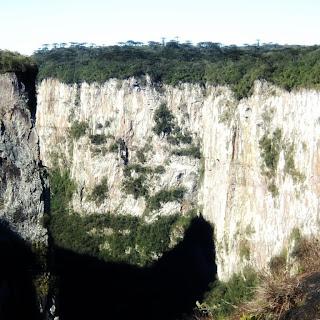 Cânion Itaimbezinho Visto da Trilha do Cotovelo, em Cambará do Sul