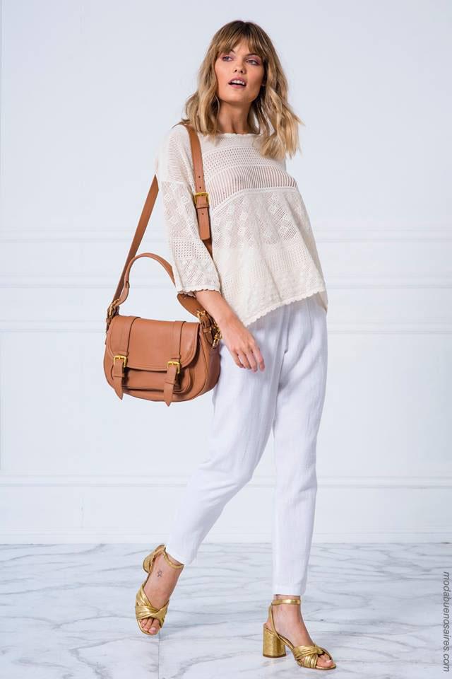 Moda primavera verano 2018 ropa de mujer.