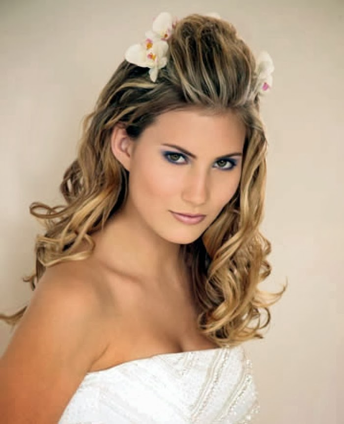 Elegant Wedding Hairstyles For Long Hair: Hairstyle Elibrodepoesia: Curly Prom Hairstyles For Long Hair