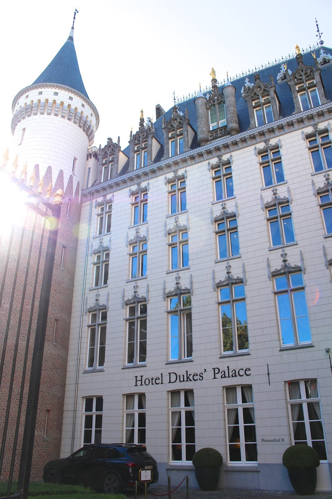 Luxury Hotel Dukes' Palace in Bruges Belgium