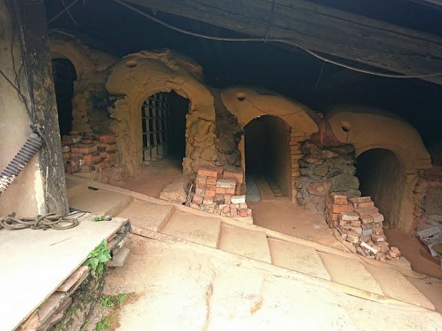 北窯の内部の写真