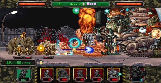 تحميل لعبة Metal Slug Attack مهكرة للأندرويد اخر اصدار