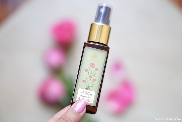 Forest Essentials Hasayan Rose Water Facial Tonic Mist