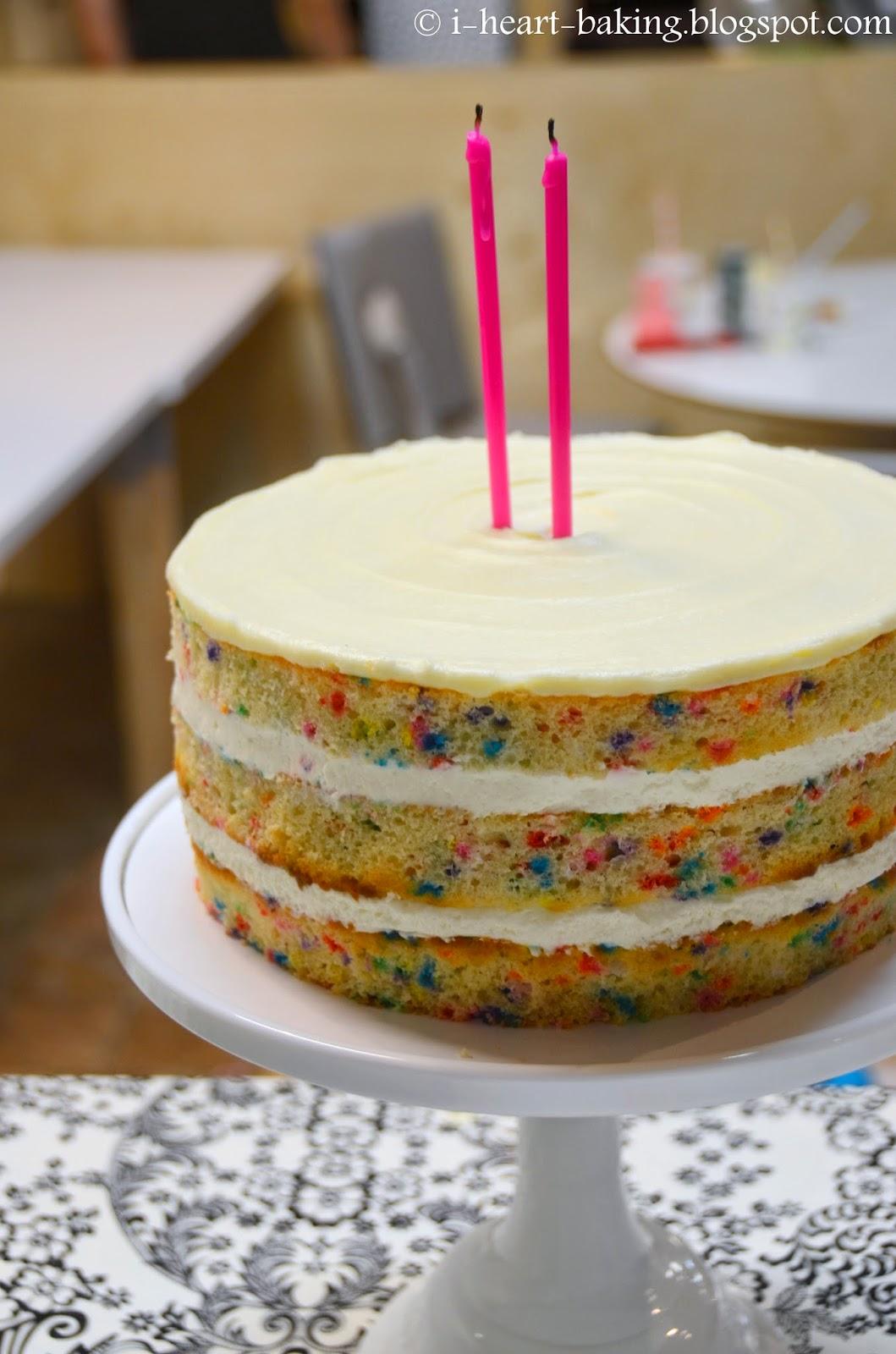 I Heart Baking Naked Funfetti Layer Cake-6428